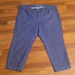 Old Navy Denim Pixie Pants Sz.18